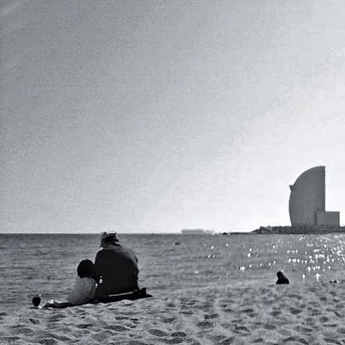 Blackandwhite At The Beach Bw_lover