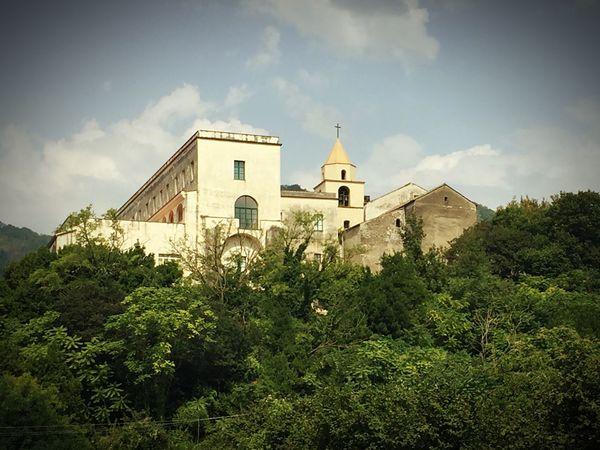 Italia Italy Campania Salerno Baronissi Convento Landscape