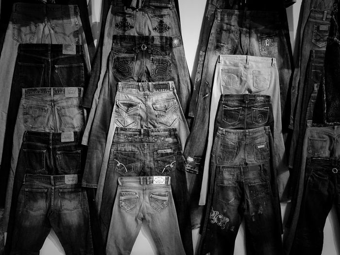Indoors  Day Low Section Adults Only Only Women Adult Close-up People Bnw_collection Bnw Bnwphotography Bnw_maniac Jeans Jeans Clothing Jeanslover Jeans Texture Cotton