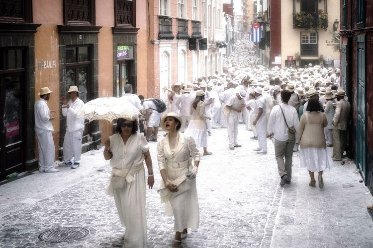 Colors Of Carnival White Carneval Famous La Palma