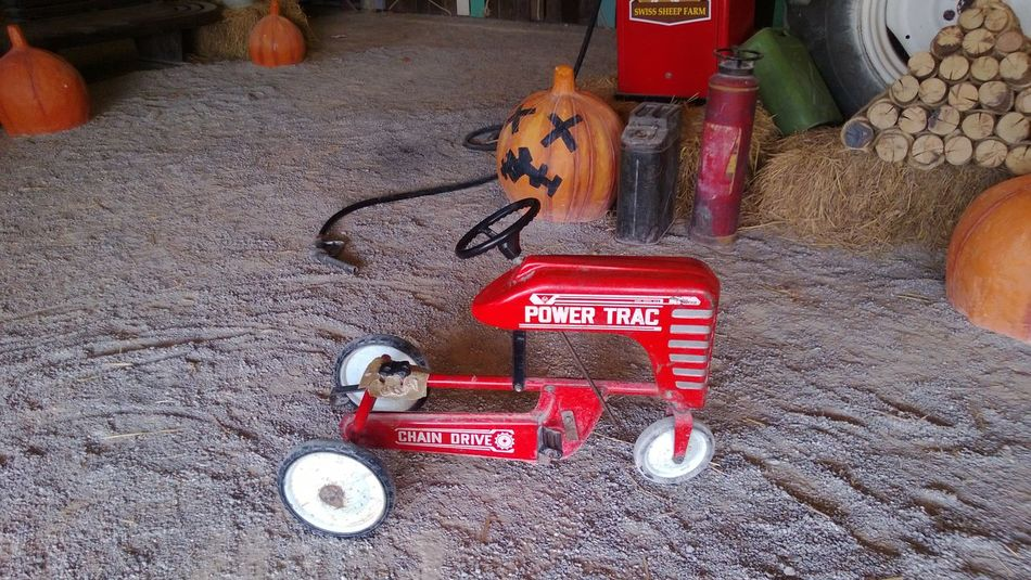 red truck for kid Kids Tractor Close-up Communication Day Indoors  No People Text Truck