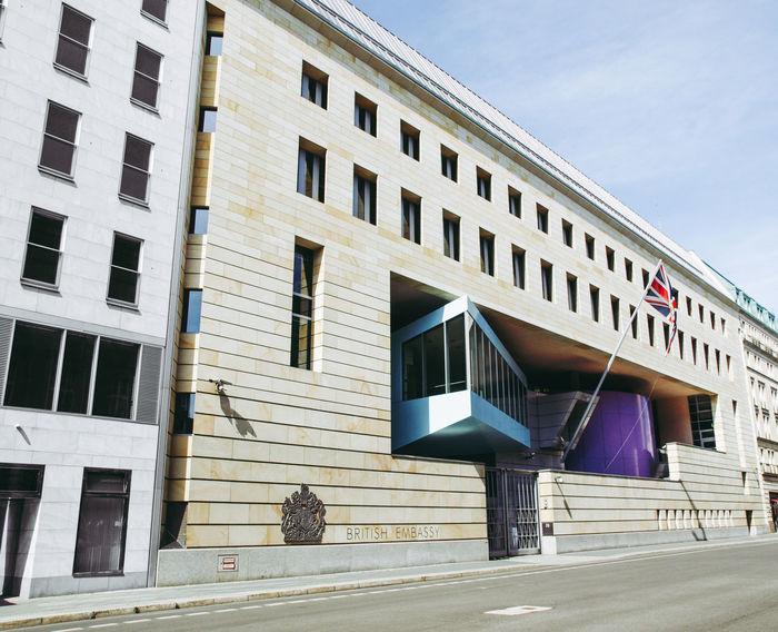 Britische Botschaft in Berlin Berlin British Embassy Deutschland German Architecture Botschaft Britische Botschaft Berlin Building Exterior City