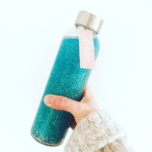 Calm Dream Glitter Calmjar Jar Bottle Calming Sensorybottle
