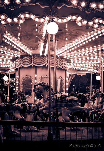 Our Carousel Horse Nicosia Christmas