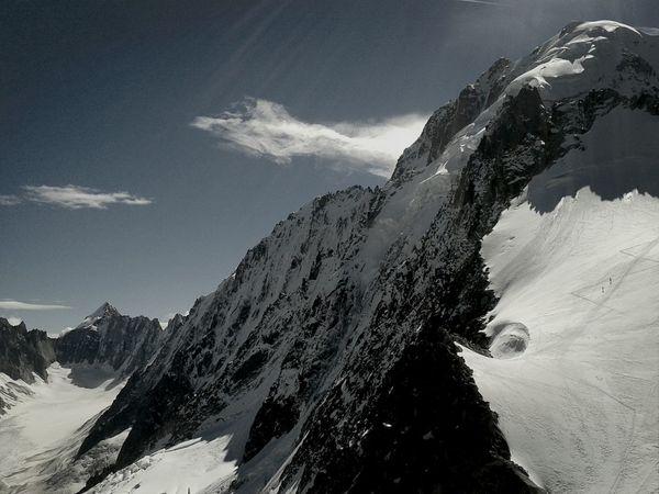 L'Aiguille Verte Chamonix-Mont-Blanc