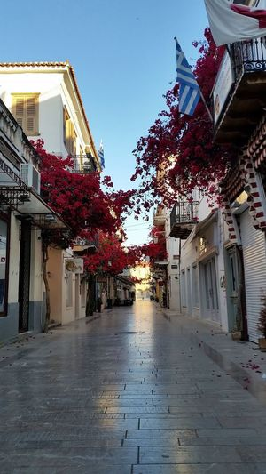 Greece Nafplio City💙 Nafplion Vacation Street Silence Early Morning Earlybird Running