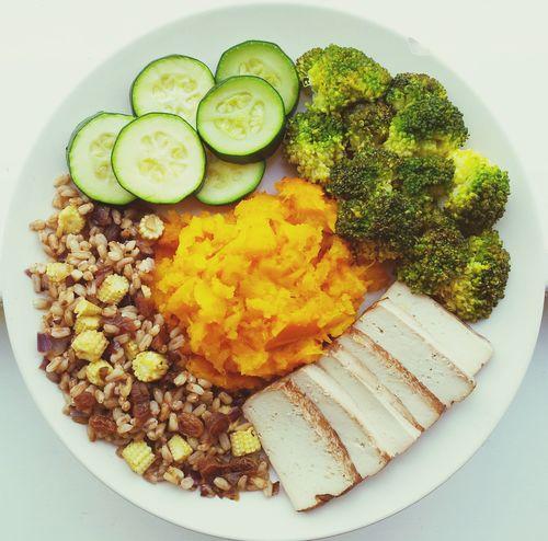 Dinner Vegan Tofu Clean Eating