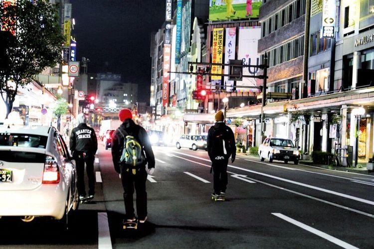 Sk8 Street Night 金沢 Kanazawa Japan 日本 Streetphotography すけぼー
