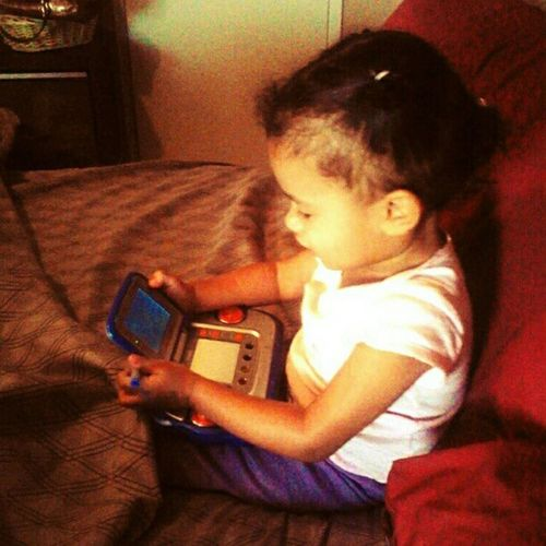 My #daughter is a #gamer in training. #gaming #gamingfamily #familyofgamers #gamers #toddler #vsmile #vtech #videogame #videogames #wtfgamersonly Gaming Daughter Gamers Gamer Videogames Toddler  Videogame  VTech Wtfgamersonly Gamingfamily Vsmile Familyofgamers