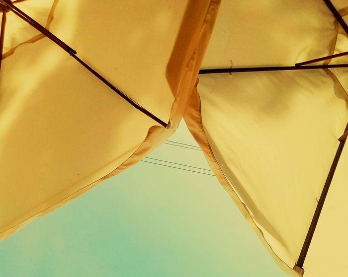 Umbrella Yellow şemsiyeler Sarı Hot Day Summer Summertime