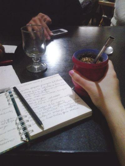 Translating Keats and drinking mate! Mate Poetry John Keats