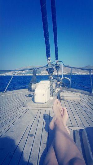 Sail Pleasureboat Sea Danika