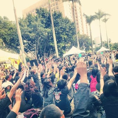Sunflowerstudentmovement Occupy Government Protest Taiwan democracy over500,000people