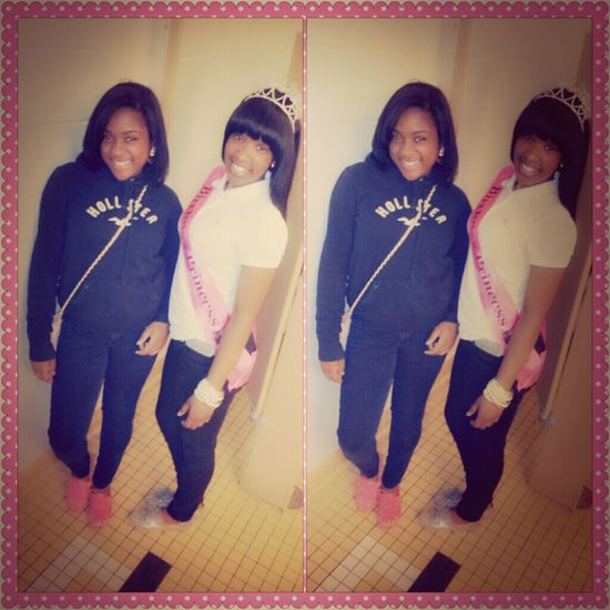 bff and i on my BIRTHDAY