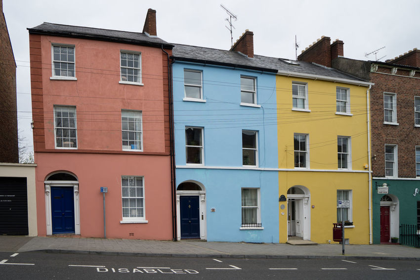 Architecture Building Exterior Built Structure City Day Derry House Ireland Irish Londonderry No People Northern Ireland Outdoors Residential Building Sky Window