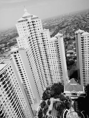 Taken from 17th floor of the hotel City Architecture High Angle View Building Exterior Cityscape Aerial View Urban Skyline Sky Apartment Buildings Apartment View Buildings Architecture Apartment Tower Swimmingpool Downtown District Hotelview