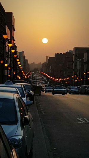 Sunrise Streetphotography