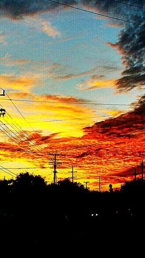 Sunrise in los feliz