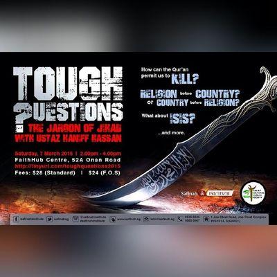Great topic... Its tomorrow... Letsgo Mustgo Gojer Muslimlivesmatter Veryveryvery