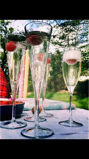 Prosecco Chilled Chilled Drinks Celebration Birthday Birthday Drinks Celebratory Drinks Drinks With Friends Sparkling Wine Wine And Strawberrys Outside Photography Outside Celebrations Fne Art Photography