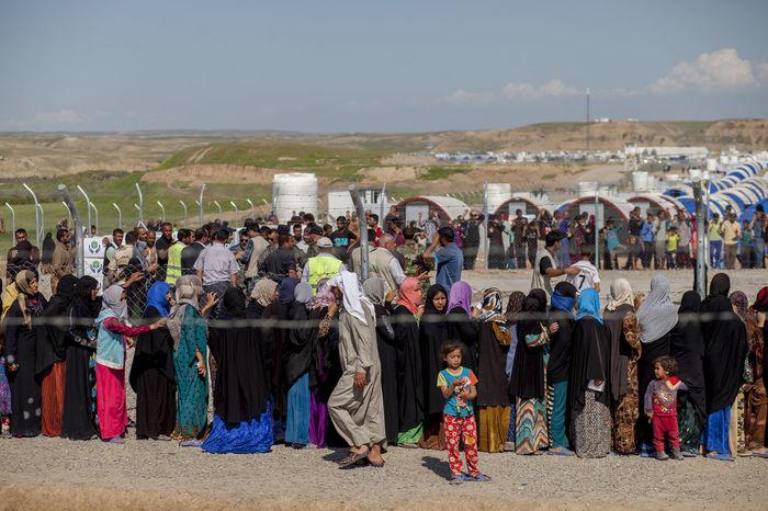 Daash Displaced Iraq Isis Kurdistan Mosul Nofood People Problems Refugees Refugeescamp The Photojournalist - 2017 EyeEm Awards War