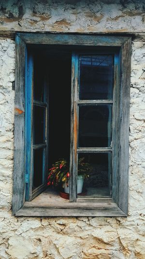 Outdoors Built Structure Flower Building Exterior Window Architecture Close-up Plant House Photography Architecture PhonePhotography Turkey Lieblingsteil Entrance Day No People
