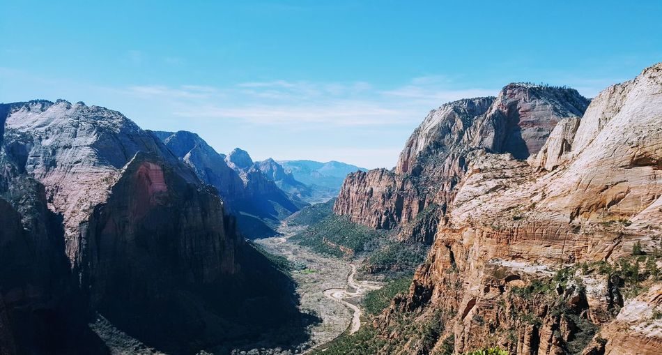 EyeEm Selects Zion National Park Outdoors Sky Beauty In Nature Nature