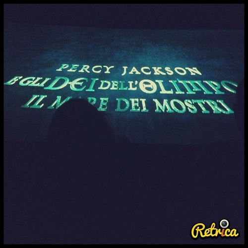 I'm watching Percyjackson .. Wow!!