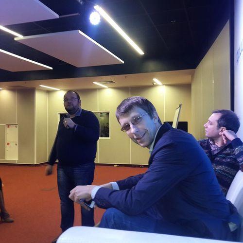 Владимир Канин (PayMe), Владимир Урбанский (Альфа-банк), Виктор Лысенко (Рокетбанк)