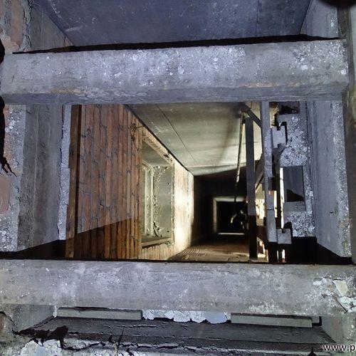 Dumbwaiter shaft. www.placesthatwere.com Abandoned Abandoned Buildings Abandoned Places Abandoned Ohio Decay Abandoned Building Urban Decay Ruins Abandoned & Derelict Creepy Rust Belt Urban Exploration Shaft Urbex Elevator Shaft Dumbwaiter Elevator Basement Eerie Old Ruin Rusty Ruins