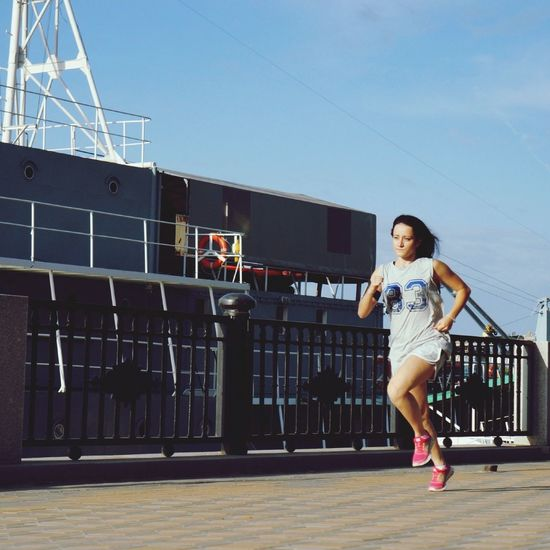 Just run and be yourself That's Me Freedom Running Girl