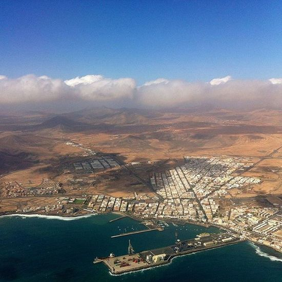 Aerial view of Fuertuventura | Spain Travel SPAIN Fuerteventura