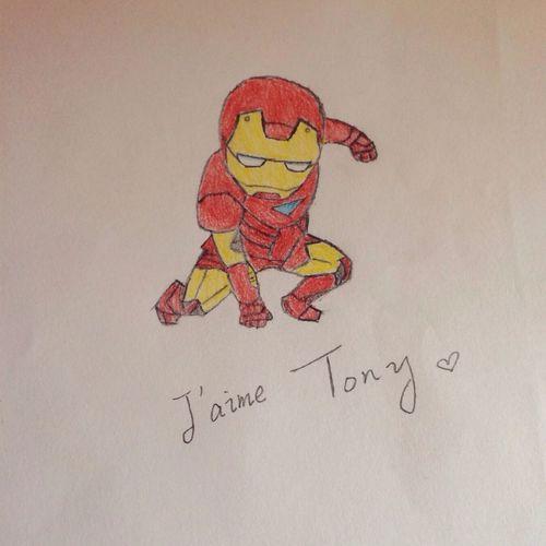Tony ❤️ Iron Man