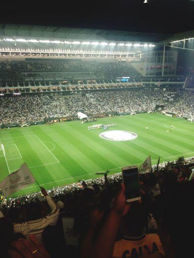 Go Corinthians Love Futebol Libertadores Brasil Itaquerao