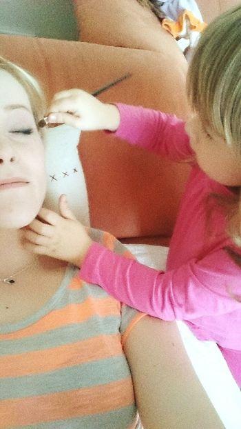 Kinderschminken Mal Anders Selfie Mydoughter