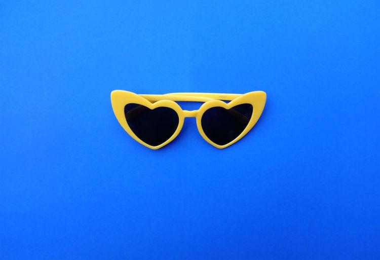 flat lay yellow
