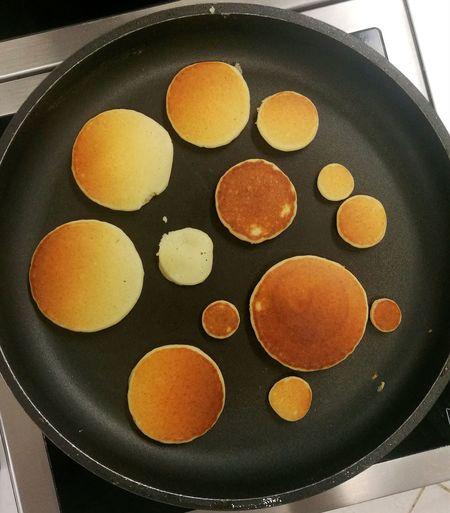 every pancake has to be eaten Pancake Nonstick Kitchen Modernkitchen Food LoveFood Work EyeEmNewHere