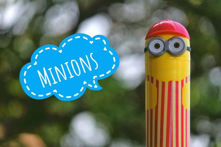 EyeEm Selects Close-up No People Multi Colored Blue Day Outdoors Minion  Minions Minion Love