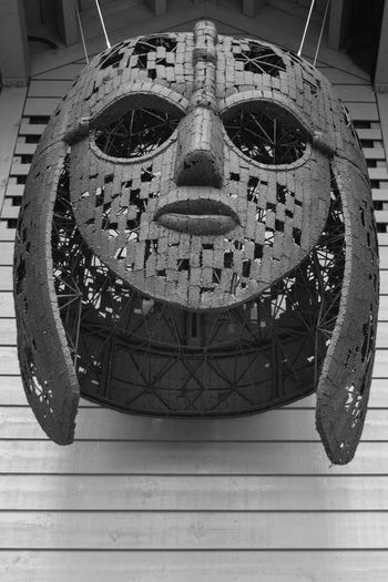 Anglo-saxon Black & White Black And White Close-up Day Design Helmet Ornate Sutton Hoo