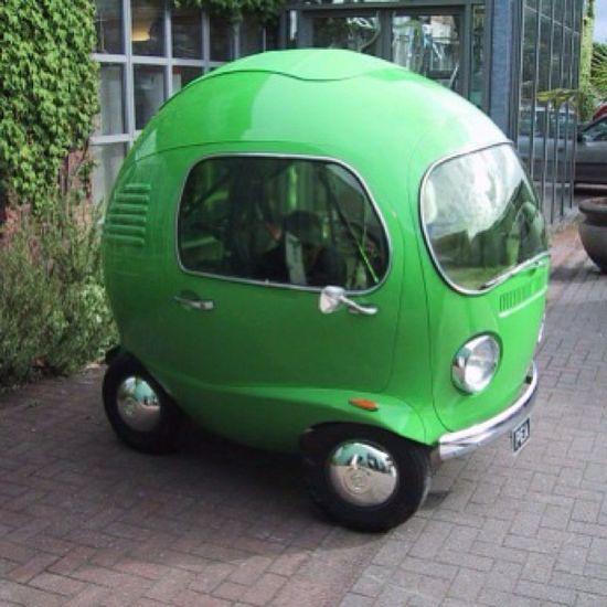 VW Nano cuter than the bug. Looks like a turtle... Wanna play Mario cart? @jessicamaureenferguson