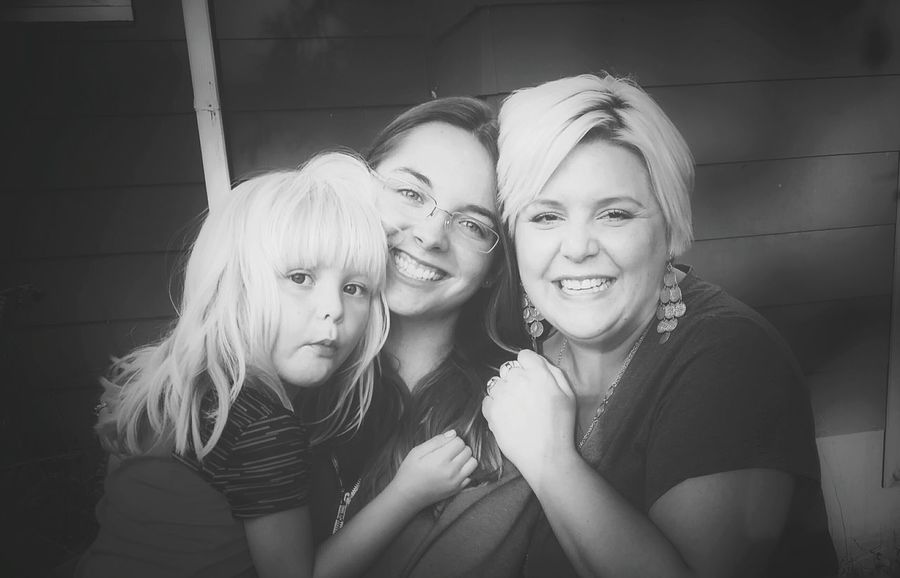 My favorite girls and I. 😃 Hanging Out Favoritethings Hello World My World Beautiful Project Happy Prairie Girl Faces Of EyeEm Eyeem Real Daughter