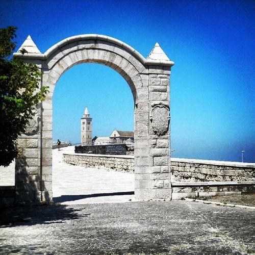 Jedem Neubeginn wohnt ein Zauber inne. Puglia Trani Newbeginning Reset
