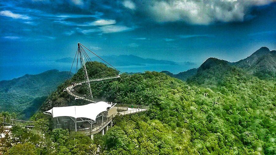 Sky Bridge Langkawi Island View