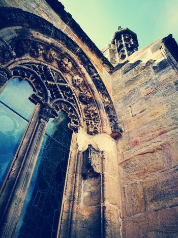 Low Angle View Perspectives Details EyeEmNewHere Rosslyn Chapel Scotland Architecture Travel Destinations History The Week On EyeEm