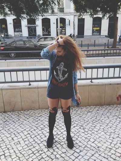 IADE Socks Girl Hair