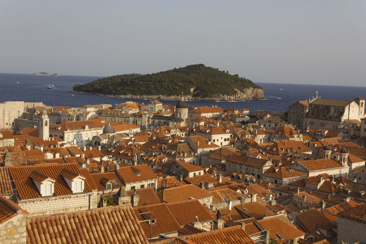 Dubrovnik Dubrovnik, Croatia Croatia Outdoors Lokrum  Lokrum Island Island Cityscape Architecture Building Exterior City Roof Built Structure Building Sea Water Residential District Sky Crowded High Angle View Crowd Town Nature Community House Horizon Over Water TOWNSCAPE Roof Tile