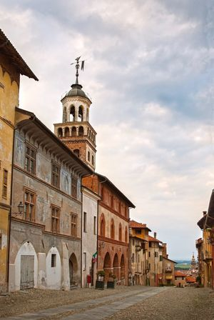 Architecture Built Structure Sky Building Exterior Religion Cloud - Sky Spirituality Place Of Worship No People Outdoors Day Dome City Good Vibes Travel Destination Italy Saluzzo  Antic