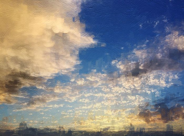 Clouds And Sky IPhoneography Painterly IPSWeather