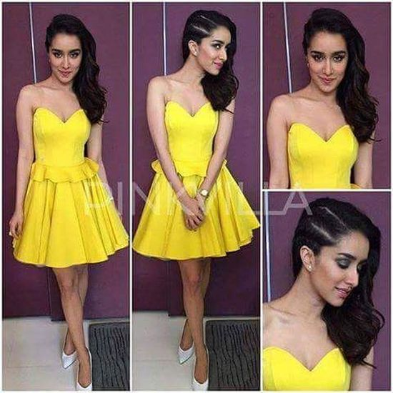 The Prettiest Cutest and Multitalented actress @sharaddhakapoor143 @shraddha_kapoor2 💘😍😘 DreamGirl