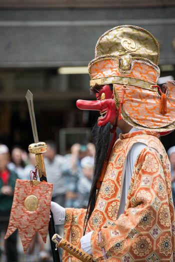 Festival A Tengu Festival In Tokyo Downtown Tokyo,Japan 天狗様 東京